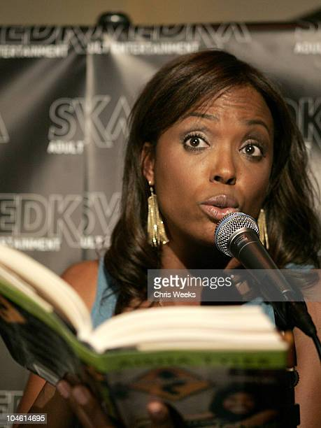 "Aisha Tyler during Svedka Vodka Presents the ""Erotica Reading Series"" Featuring Aisha Tyler at Monroe's in West Hollywood, California, United States."