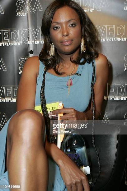 Aisha Tyler during Svedka Vodka Presents the 'Erotica Reading Series' Featuring Aisha Tyler at Monroe's in West Hollywood California United States