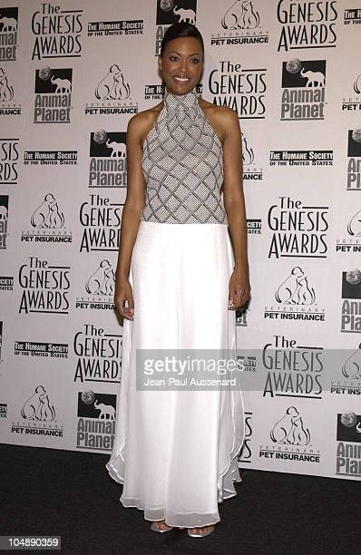Aisha Tyler during The 17th Annual Genesis Awards Pressroom at The Beverly Hilton in Beverly Hills California United States