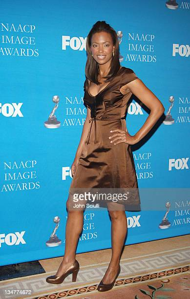 Aisha Tyler during The 37th NAACP Image Awards Nominations Press Conference at Peninsula Beverly Hills Hotel in Beverly Hills California United States