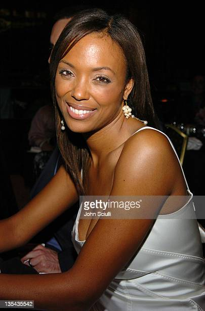 Aisha Tyler during The Lili Claire Foundation's 7th Annual Benefit Gala Hosted by Matthew Perry Show and Audience at Century Plaza Hotel in Los...