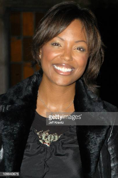 Aisha Tyler during The Official Launch Party For Spike TV At The Playboy Mansion Arrivals at The Playboy Mansion in Bel Air California United States