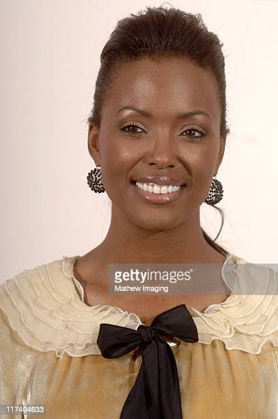 Aisha Tyler presenter during 58th Annual Creative Arts Emmy Awards Press Room at The Shrine Auditorium in Los Angeles California United States