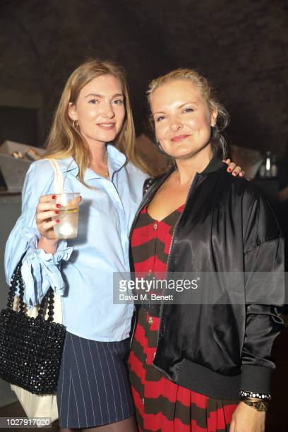 Aishling McNeill and Debbie Cartwright attend the Axel Arigato launch at Village Underground on September 6 2018 in London England