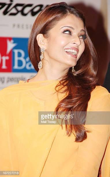 Aishwarya Bachchan at the Positive Health Awards in Mumbai on November 30 2010