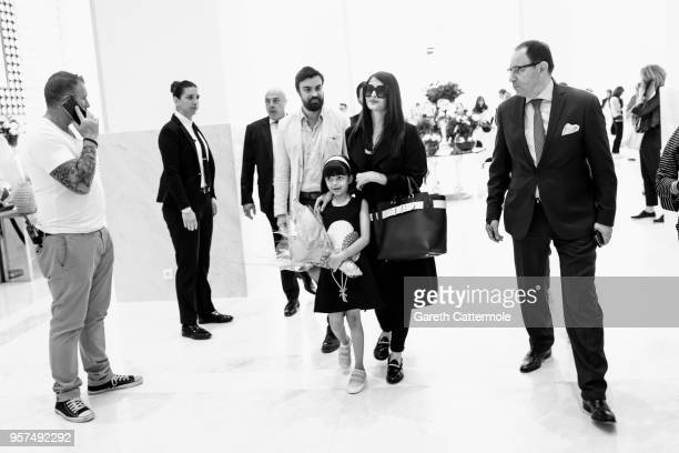 Aishwarya Rai arrives to the Martinez hotel during the 71st annual Cannes Film Festival on May 11 2018 in Cannes France