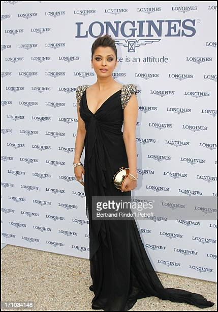 Aishwarya Rai at Charity Dinner Sponsored By Longines Elegance Is An Attitude In Benefit Of Foundation Agassi At Museum Rodin In Paris