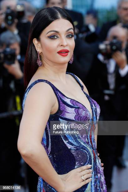 Aishwarya Rai at the 'Girls Of The Sun ' premiere during the 71st Cannes Film Festival at the Palais des Festivals on May ZZZ 2018 in Cannes France