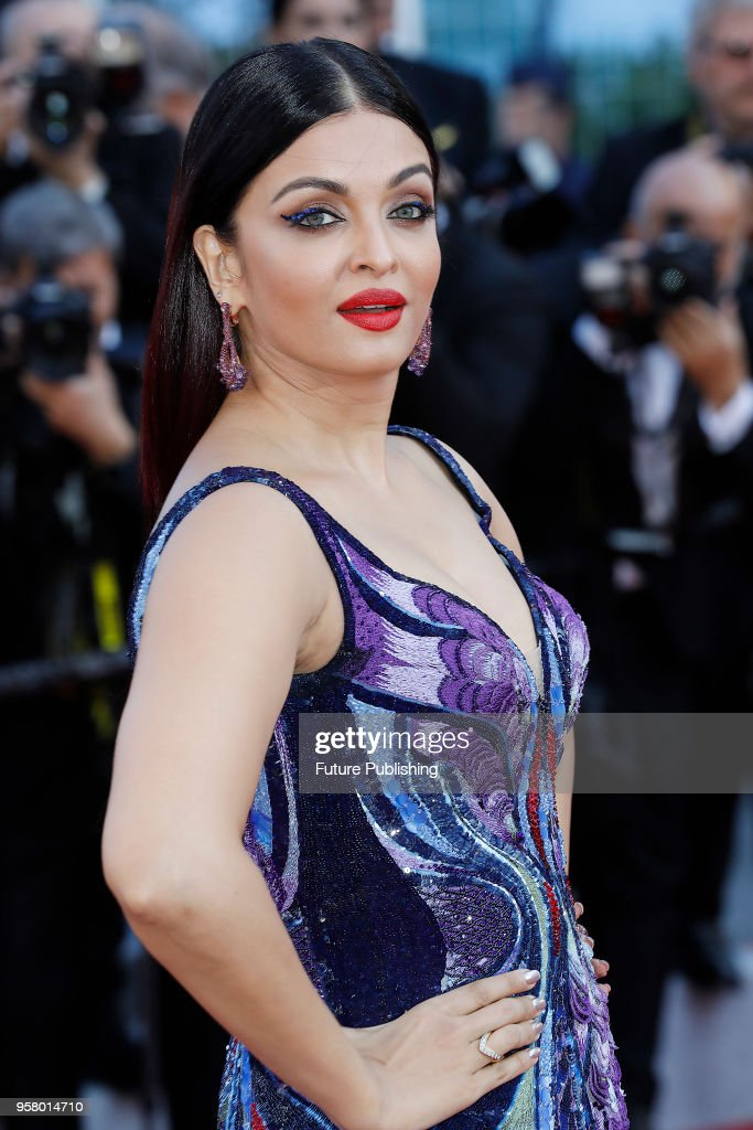 Aishwarya Rai at the `Girls Of The Sun ` premiere during the 71st Cannes Film Festival at the Palais des Festivals on May ZZZ 2018 in Cannes France