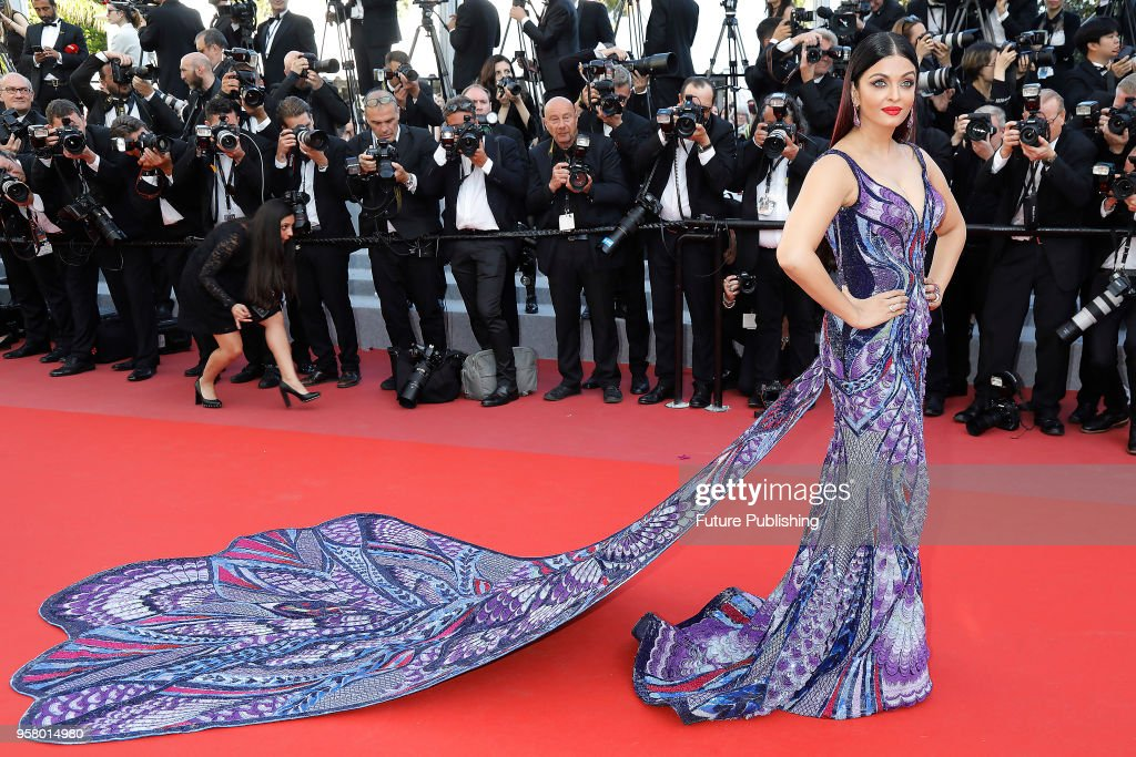 Aishwarya Rai at the 'Girls Of The Sun ' premiere during the 71st Cannes Film Festival at the Palais des Festivals on May ZZZ 2018 in Cannes F