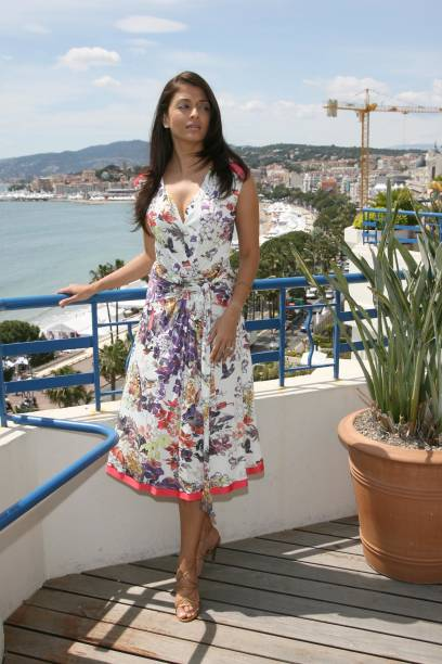 Aishwarya Rai at The Martinez Hotel during 2007 Cannes Film Festival Aishwarya Rai at The Martinez Hotel on the L`Oreal Terrace in Cannes France