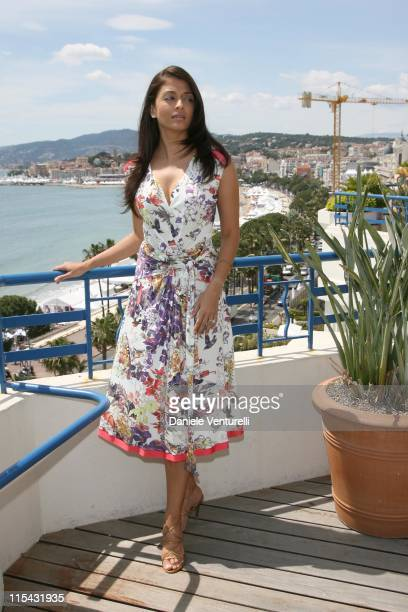 Aishwarya Rai at The Martinez Hotel during 2007 Cannes Film Festival Aishwarya Rai at The Martinez Hotel on the L'Oreal Terrace in Cannes France