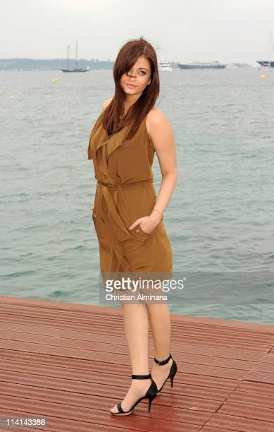 Aishwarya Rai attend a photocall during the 64th Annual Cannes Film Festival at the Majestic Beach on May 13 2011 in Cannes France