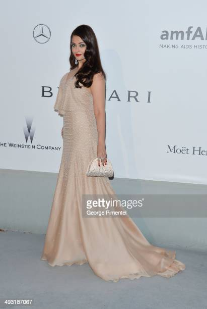 Aishwarya Rai attends amfAR's 21st Cinema Against AIDS Gala Presented By WORLDVIEW BOLD FILMS And BVLGARI at the 67th Annual Cannes Film Festival on...