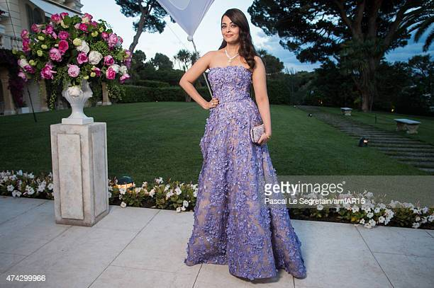 Aishwarya Rai attends amfAR's 22nd Cinema Against AIDS Gala, Presented By Bold Films And Harry Winston at Hotel du Cap-Eden-Roc on May 21, 2015 in...
