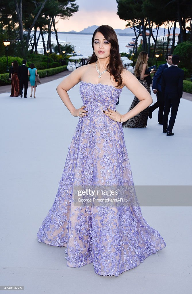 Aishwarya Rai attends amfAR`s 22nd Cinema Against AIDS Gala Presented By Bold Films And Harry Winston at Hotel du CapEdenRoc on May 21