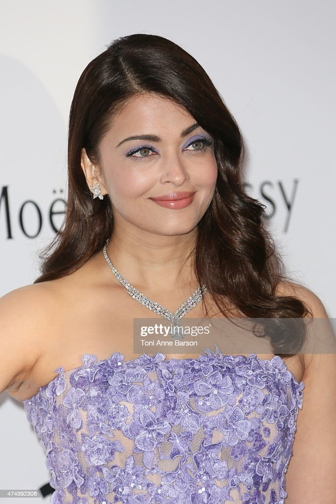 Aishwarya Rai attends amfAR's 22nd Cinema Against AIDS Gala Presented By Bold Films And Harry Winston at Hotel du CapEdenRoc on May 21 2015 in Cap