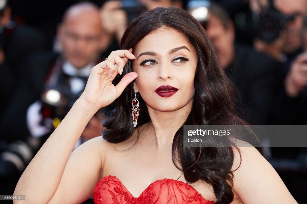 Aishwarya Rai attends the `120 Beats Per Minute ` screening during the 70th annual Cannes Film Festival at Palais des Festivals on May 20 2017 in...