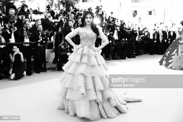 Aishwarya Rai attends the '120 Beats Per Minute ' screening during the 70th annual Cannes Film Festival at on May 27 2017 in Cannes France