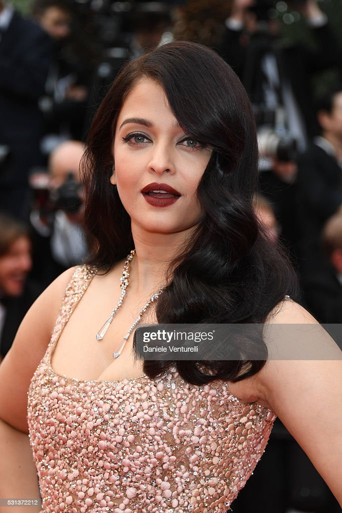 Aishwarya Rai attends `The BFG ` premiere during the 69th annual Cannes Film Festival at the Palais des Festivals on May 14 2016 in Cannes