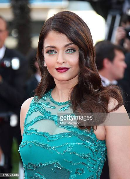 Aishwarya Rai attends the Carol Premiere during the 68th annual Cannes Film Festival on May 17 2015 in Cannes France