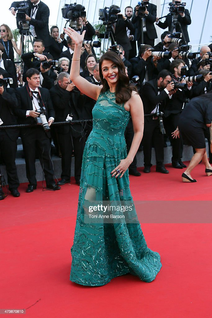 Aishwarya Rai attends the 'Carol' premiere during the 68th annual Cannes Film Festival on May 17, 2015 in Cannes, France.