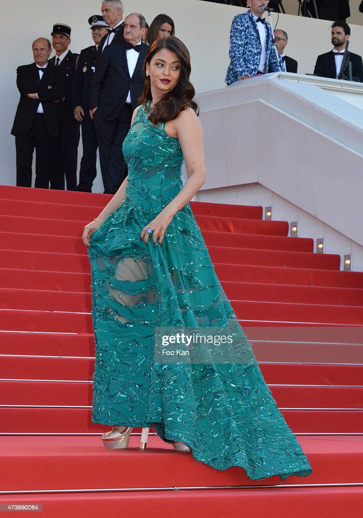 Aishwarya Rai attends the `Carol` Premiere during the 68th annual Cannes Film Festival on May 17 2015 in Cannes France