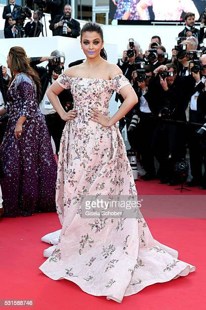 Aishwarya Rai attends the 'From The Land Of The Moon ' premiere during the 69th annual Cannes Film Festival at the Palais des Festivals on May 15...