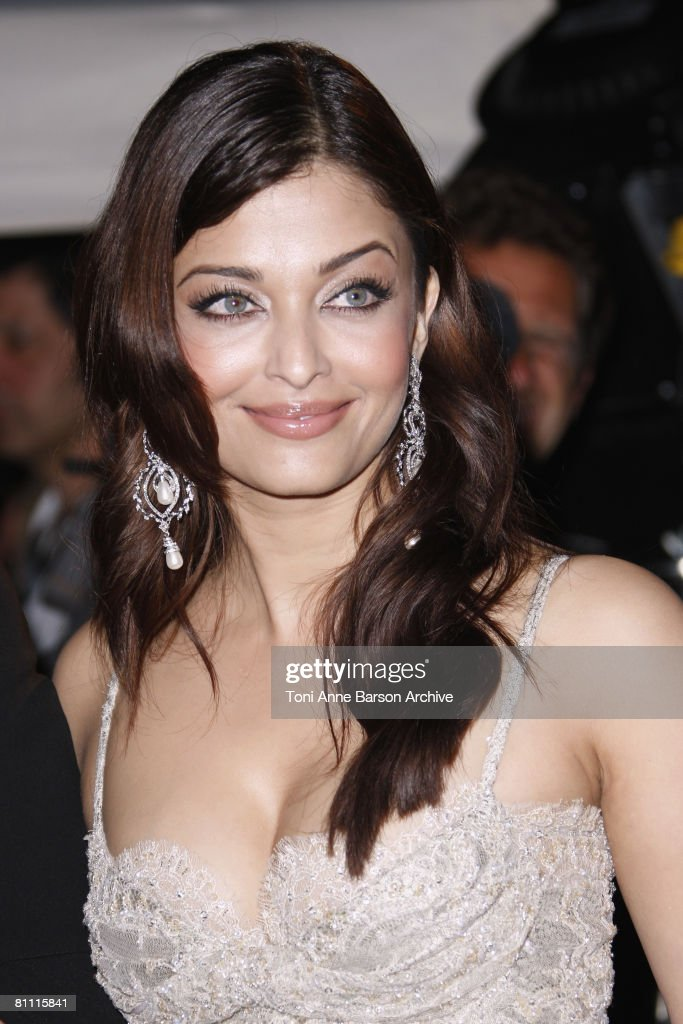 Aishwarya Rai attends the 'Kung Fu Panda' party at Carlton Beach during the 61st Cannes International Film Festival on May 15 2008 in Cannes F
