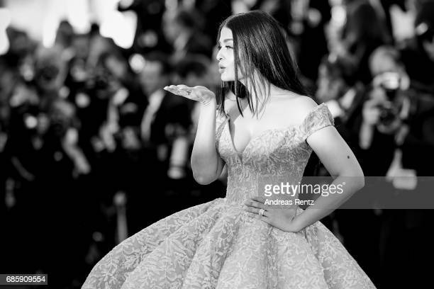 Aishwarya Rai attends the 'Okja' screening during the 70th annual Cannes Film Festival at on May 19 2017 in Cannes France