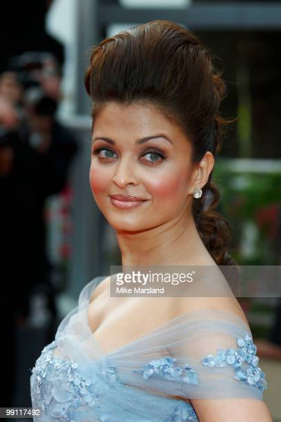 Aishwarya Rai attends the Opening Night Premiere of 'Robin Hood' at the Palais des Festivals during the 63rd Annual International Cannes Film...
