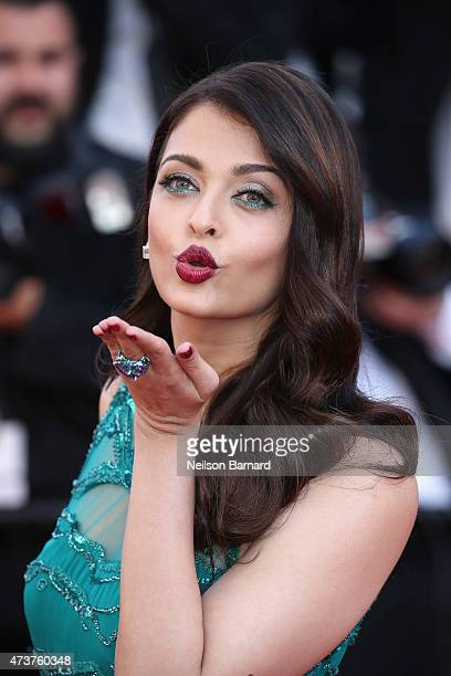 Aishwarya Rai attends the Premiere of 'Carol' during the 68th annual Cannes Film Festival on May 17 2015 in Cannes France
