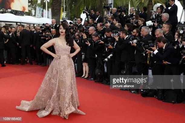 Aishwarya Rai attends the premiere of 'The BFG' during the 69th Annual Cannes Film Festival at Palais des Festivals in Cannes France on 14 May 2016...