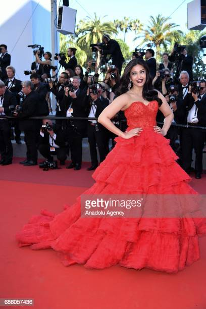 Aishwarya Rai attends the screening of '120 Beats Per Minute' in competition at the 70th annual Cannes Film Festival in Cannes France on May 20 2017