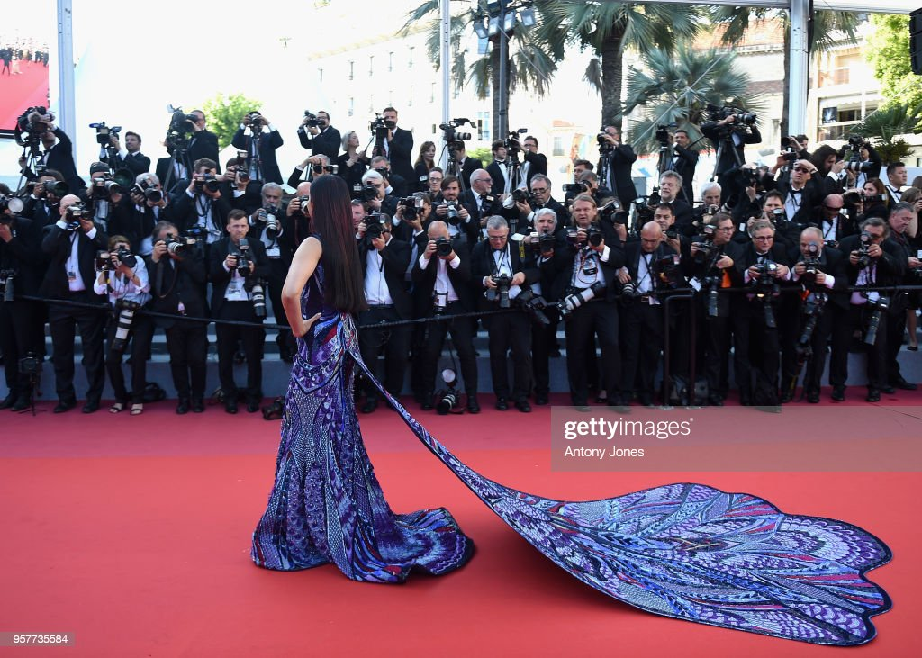 Aishwarya Rai attends the screening of 'Girls Of The Sun ' during the 71st annual Cannes Film Festival at Palais des Festivals on May 12 2018