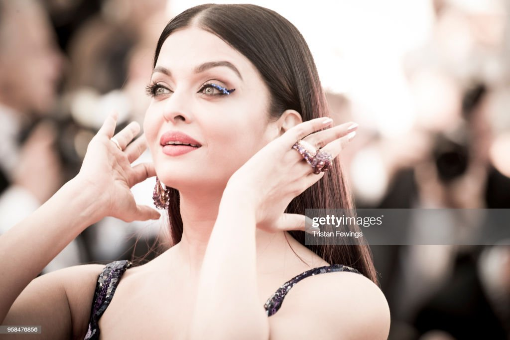 Aishwarya Rai attends the screening of `Girls Of The Sun ` during the 71st annual Cannes Film Festival on May 12 2018 in Cannes France