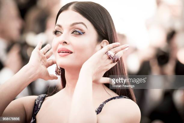 Aishwarya Rai attends the screening of 'Girls Of The Sun ' during the 71st annual Cannes Film Festival on May 12 2018 in Cannes France