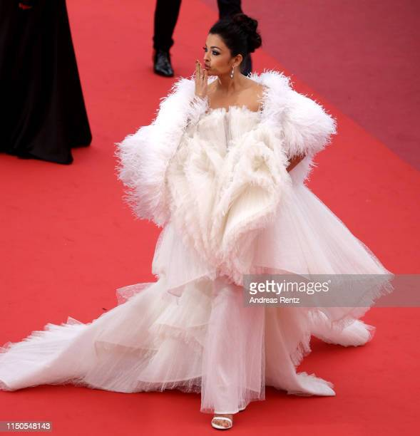 Aishwarya Rai attends the screening of La Belle Epoque during the 72nd annual Cannes Film Festival on May 20 2019 in Cannes France