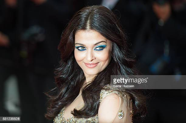 Aishwarya Rai attends the screening of 'Slack Bay ' at the annual 69th Cannes Film Festival at Palais des Festivals on May 13 2016 in Cannes France