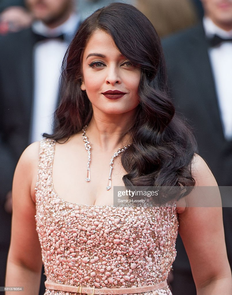 Aishwarya Rai attends the screening of `The BFG ` at the annual 69th Cannes Film Festival at Palais des Festivals on May 14 2016 in Cannes France
