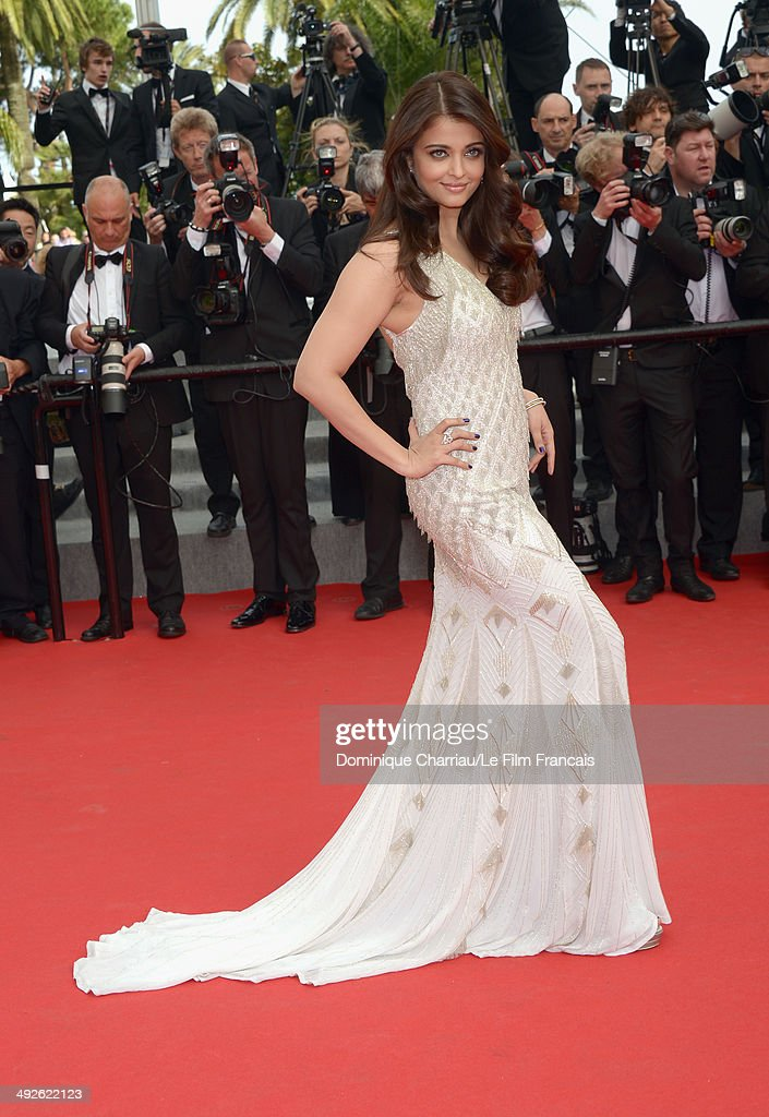 Aishwarya Rai attends `The Search` Premiere at the 67th Annual Cannes Film Festival on May 21 2014 in Cannes France
