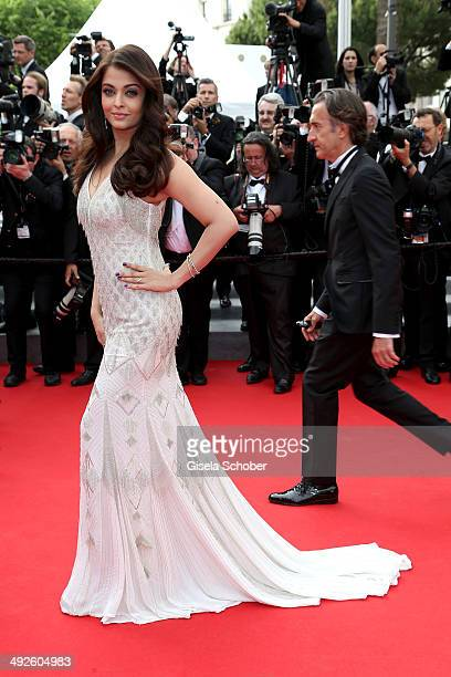 Aishwarya Rai attends The Search premiere during the 67th Annual Cannes Film Festival on May 21 2014 in Cannes France
