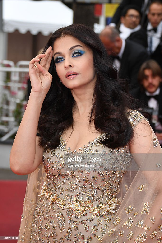 Aishwarya Rai attends the `Slack Bay ` premiere during the 69th annual Cannes Film Festival at the Palais des Festivals on May 13 2016 in Cannes