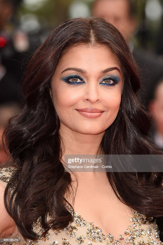 Aishwarya Rai attends the `Slack Bay ` premiere during the 69th annual Cannes Film Festival at the Palais des Festivals on May 13 2016 in Cannes...
