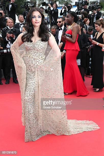 Aishwarya Rai attends the Slack Bay premiere during the 69th annual Cannes Film Festival at the Palais des Festivals on May 13 2016 in Cannes France