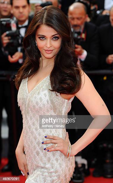 Aishwarya Rai attends the 'The Search' Premiere at the 67th Annual Cannes Film Festival on May 21 2014 in Cannes France