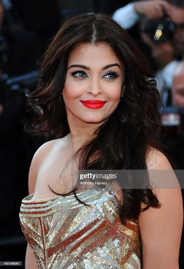 Aishwarya Rai attends the `Two Days One Night` premiere at the 67th Annual Cannes Film Festival on May 20 2014 in Cannes France