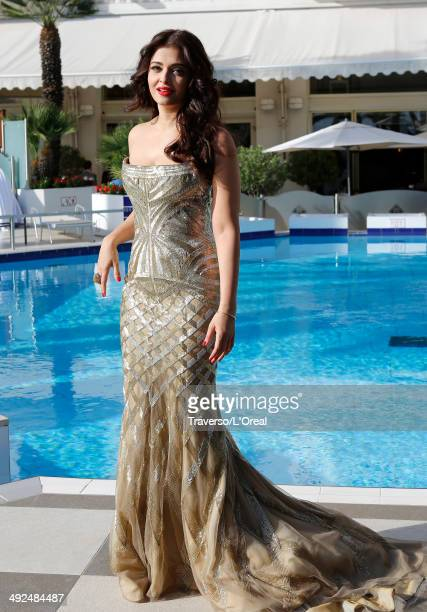"""Aishwarya Rai attends the """"Two Days, One Night"""" premiere during the 67th Annual Cannes Film Festival on May 20, 2014 in Cannes, France."""