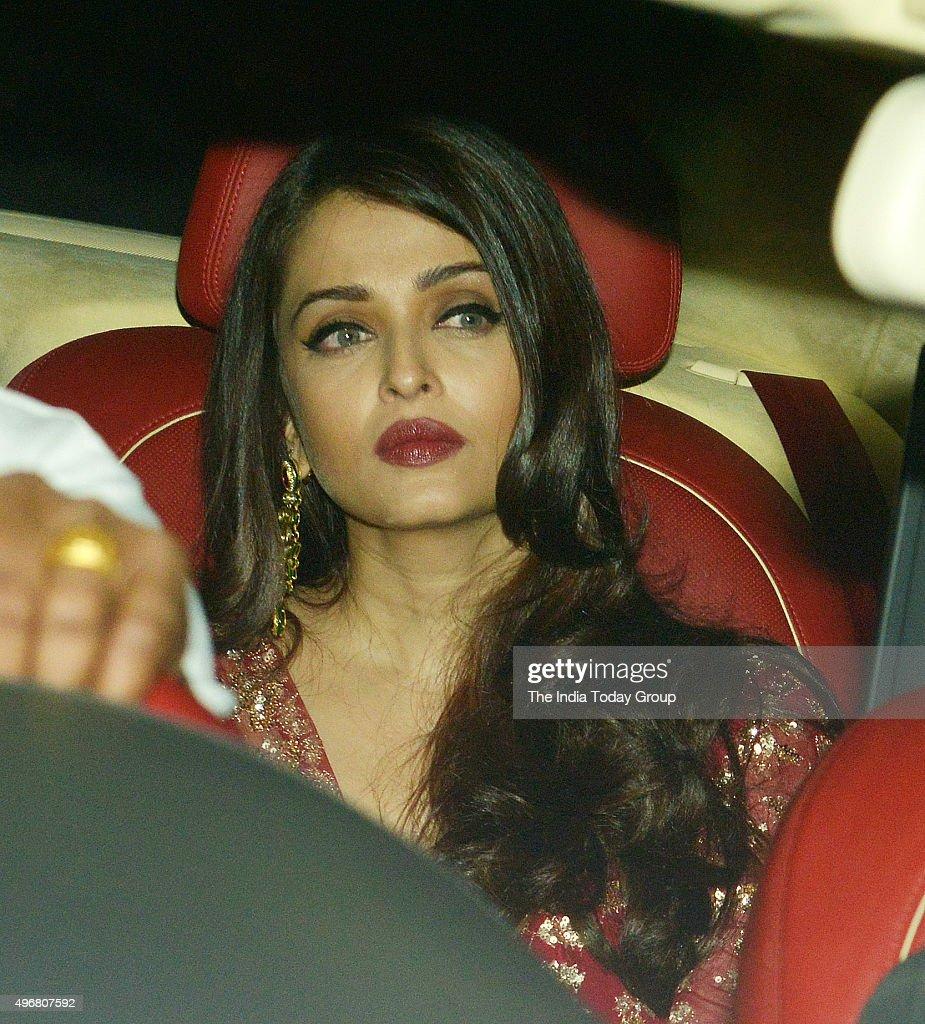 Aishwarya Rai Bachchan at Akshay Kumars Diwali Party in Mumbai