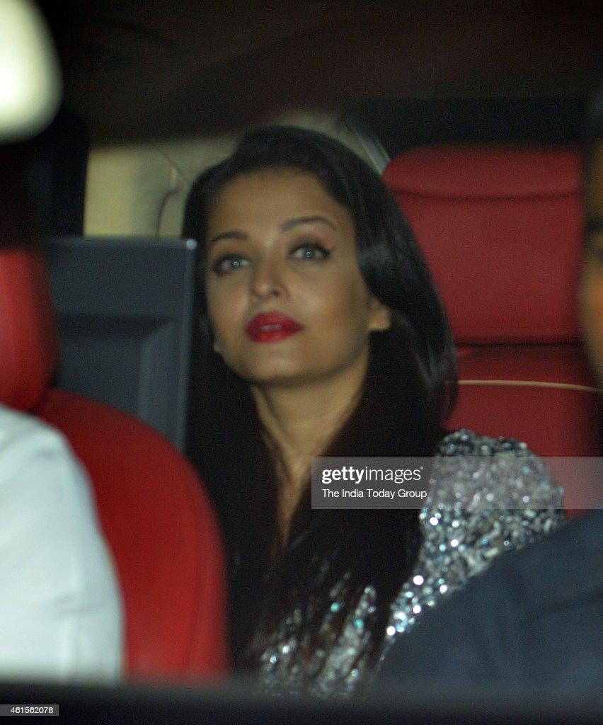 Aishwarya Rai Bachchan at Karan Johar`s party in Mumbai